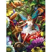 Rainbowline Fairies Summer Forest Fairy 750 Piece Puzzle