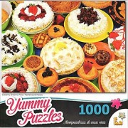 Yummy Puzzles - Creamy Dreamy Pies 1000 Piece Puzzle