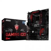 MSI H170 Gaming M3 Scheda Madre, Nero/Rosso