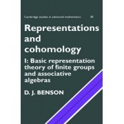 Representations and Cohomology: Volume 1, Basic Representation Theory of Finite Groups and Associative Algebras by D. J. Benson
