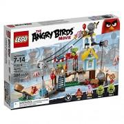 LEGO Angry Birds Demolición de Ciudad Cerdo - juegos de construcción (Película, Multi)