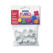 Staedtler - Fimo Accessoires - Polybag 6 Mini Emporte-Pièces Motifs Assortis @ 2 - 3 cm