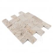 Mozaic Travertin Sunny Desert Scapitata 5 x 10cm