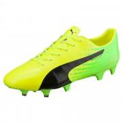 プーマ エヴォスピード 17.SL S FG メンズ Safety Yellow-Puma Black-Green Gecko