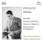 F Poulenc - Melodies (0730099464222) (1 CD)