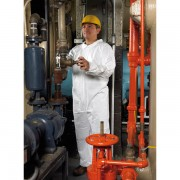 Suntech Microporous Disposable Coverall Lg - White