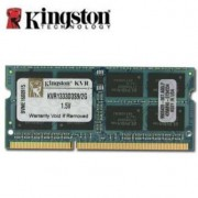 Kingston - DDR3 - 2 Go - SO DIMM 204 broches - 1333 MHz / PC3-10600 - mémoire sans tampon - non ECC - pour Apple iMac