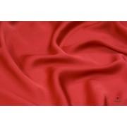 Tessuto Charmeuse in Seta 2 Capi AAA Rosso
