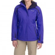 Columbia Blazing Star Interchange Jacket - 3-in-1 Insulated Omni-Shield LIGHT GRAPEINKLING (05)