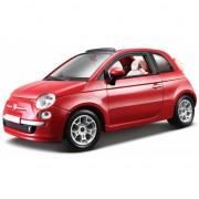 Model auto Fiat 500 cabrio 1:24