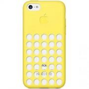 Apple MF038ZM/A - Carcasa para Apple iPhone 5C, amarillo