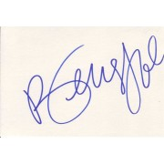 Beverly Johnson Autographed Index Card