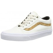 Vans Old Skool - Zapatillas de lona para hombre blanco White (Cork Twill - Classic White)