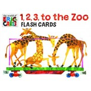 1, 2, 3 to the Zoo Train Flash Cards by Eric Carle