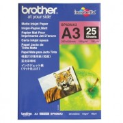 Brother BP-60MA3 Matte Paper A3, 25 Sheets, Size: 297 x 420mm, Weight: 145 gsm