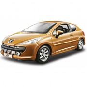 Speelgoed auto Peugeot 207 1:24