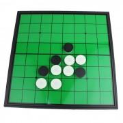 Ocio Entretenimiento Hipoteca magnetica doblez Llevar Reversi - Verde + Negro