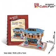 CubicFun 3D Puzzle World Style-Series Turkiye Flavor - Ceramics Shop