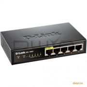 D-Link, Switch Desktop 5 porturi 10/100, 1 port PoE 802.3af