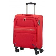 American Tourister Summer Voyager 55cm 4-Wheel Cabin Case - Ribbon Red