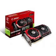 MSI GAMING GeForce GTX 1080 8GB GDDR5X DirectX 12 VR Ready GeForce GTX 1080 GAMING X 8G