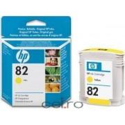 Cartus HP 82 69-ml Galben Designjet 500 800