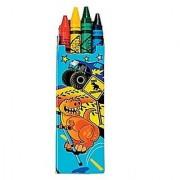 Four Crayons Per Box - 12 Boxes Per Unit