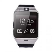 Sannysis Aplus GV18 Bluetooth Smart Watch für Samsung iPhone(schwarz)