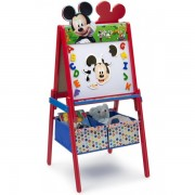 Tabla magnetica Delta Children Mickey Mouse multifunctionala