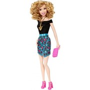 Barbie Fashionistas Party Glam Doll 6: Blond Permed Hair
