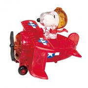 Crystal Puzzle Snoopy Flying Ace 3D Puzzle 39 piece