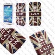 Samsung Galaxy S4 I9500 (калъф пластик) 'Keep calm Style'