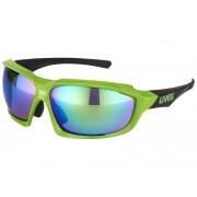 UVEX sportstyle 710 - Gafas deportivas - verde/negro Gafas deportivas