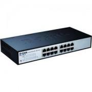 D-Link 16-port 10/100/1000 EasySmart Switch - DGS-1100-16