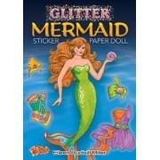 Glitter Mermaid Sticker Paper Doll by Eileen Miller