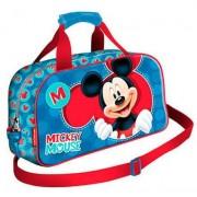 Geanta sport Mickey, albastra