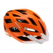 Alpina Panoma City Gr. 56-59 cm - orange / orange matt reflective - City Helme