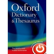 Oxford Dictionary and Thesaurus by Oxford Dictionaries
