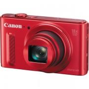 Aparat foto digital Canon PowerShot SX610 HS : 20.2 MPx, 18x Zoom, LCD 3, FullHD, Wi-Fi, IS, NFC, Japan - Red