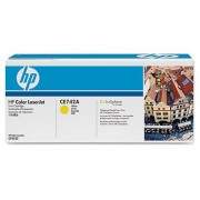 Originale HP CE742A Toner giallo