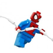 Lego?MarvelTM Superheroes Spider-man with WEB Minifigure Peter Parker by Night Plaza