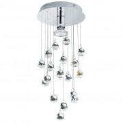 EGLO Krištáľová stropná lampa Luxy 1 89527