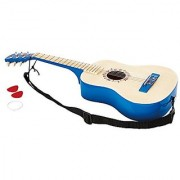 Hape - Early Melodies - Vibrant Guitar Wooden Instrument Blue