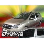 Deflektory komplet 4 ks - Dacia Logan MCV, 2013-