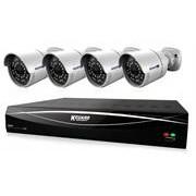 KGuard 8 Channel HD Series + 4 Cameras Combo Kit