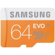 Card de memorie Samsung microSDXC EVO UHS-1 64GB (Class 10)
