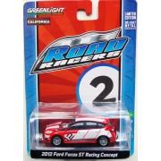 2012 Ford Focus street road racer , 1:64, GreenLight