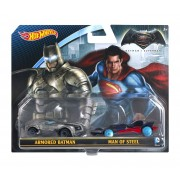 Set Masinute Mattel HW Batman VS Superman Car 2 P DJP09