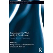Commitment to Work and Job Satisfaction by Bengt Furaker