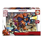 Educa 16338 Puzzle-Hero 6 Big, 200-Piece